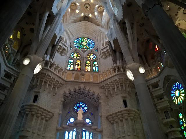 Facciata Interna Sagrada Familia