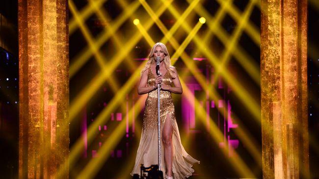 Jessica Andersson en el Melodifestivalen