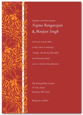 Online Wedding Invitation Templates India