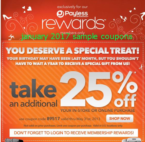 Printable coupons blogspot payless