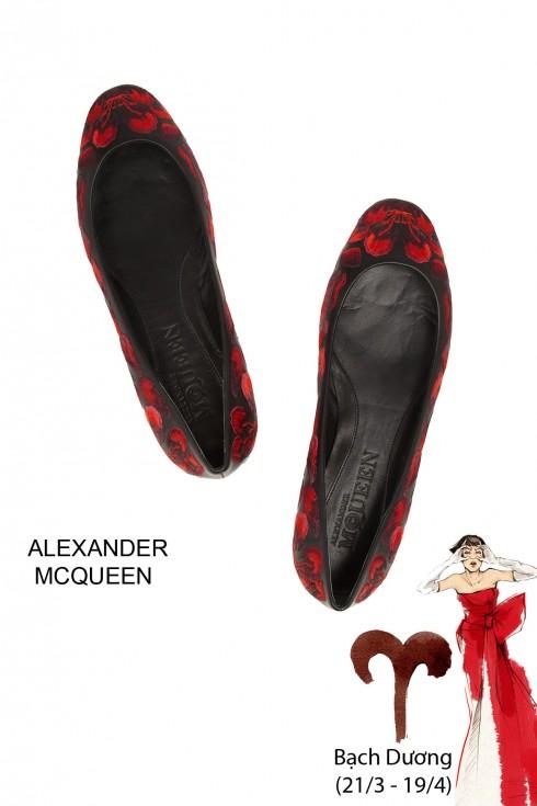 Giày búp bê nữ cho 12 cung hoàng đạo