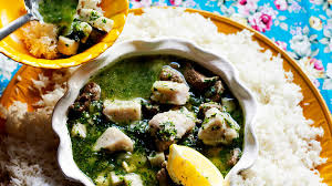 Taro is a popular root vegetable in Egypt and this stew Taro and lamb stew recipe
