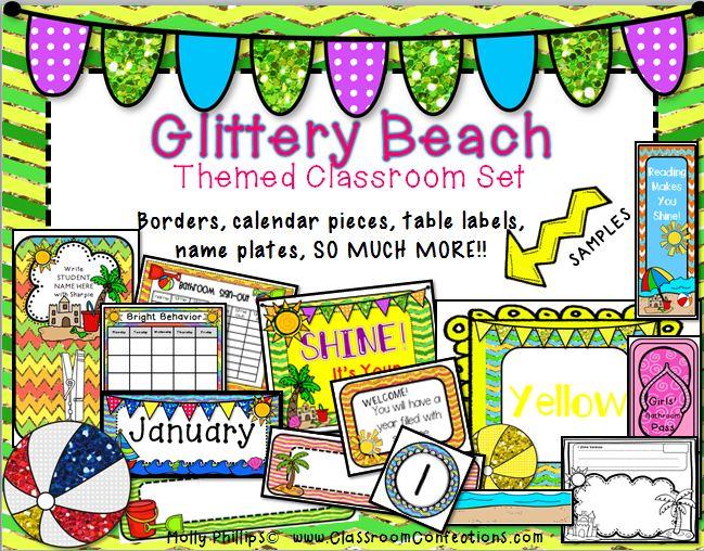 Beach Themed Classroom Decorations Classroom Activities Social
