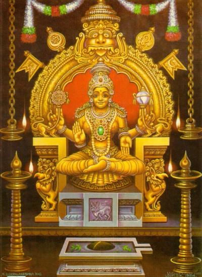 Hindu Goddess mukambika wallpaper