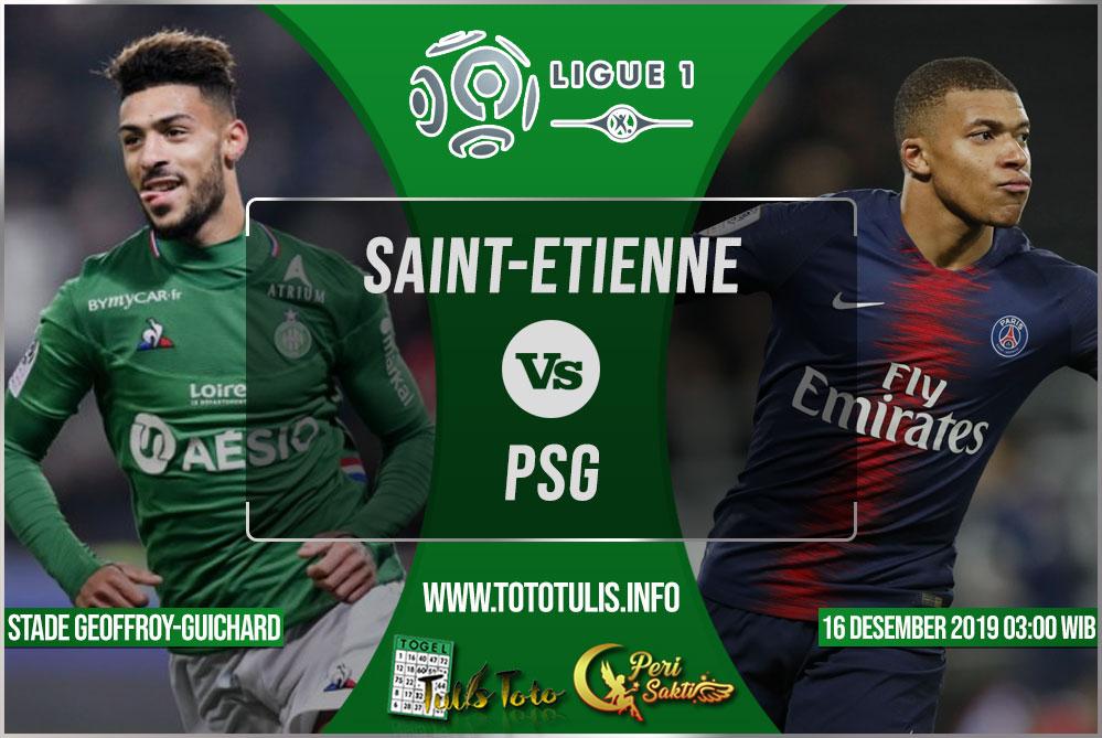 Prediksi Saint-Etienne vs PSG 16 Desember 2019