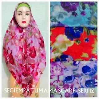 jilbab segi empat umama scarf seri 12