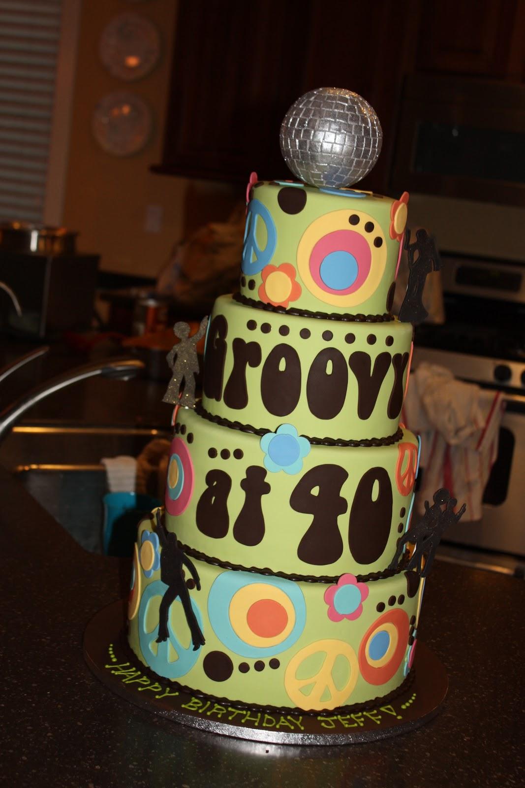 The Good Apple: Jeff's 40th Birthday Cake