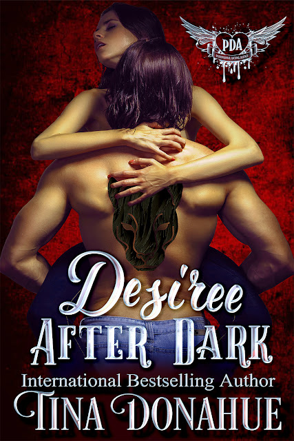 What happens when a sexy vampiress and a panther shifter hook up? Magic and mayhem. DESIREE AFTER DARK #TinaDonahueBooks #ParanormalDatingAgency #EroticPNR