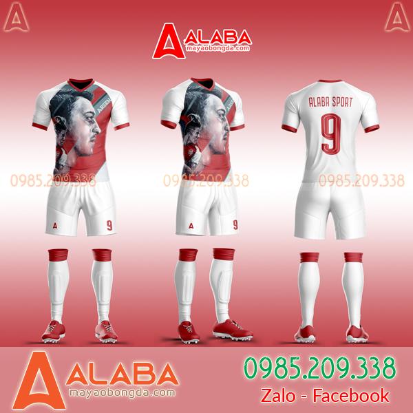 Áo CLB Arsenal tự thiết kế mã ARB AR08 đẹp