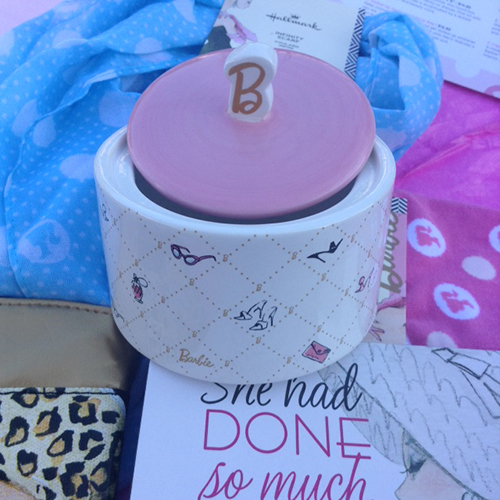 Hallmark Loves Barbie ~ #LoveHallmarkCA  Barbie Treasure Box $14.95