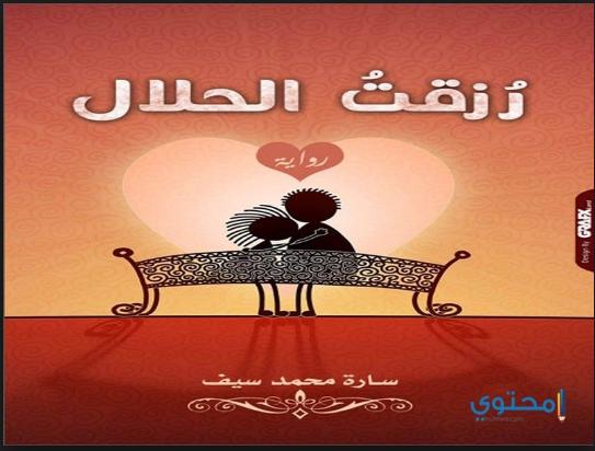 رواية رزقت الحلال - سارة محمد سيف