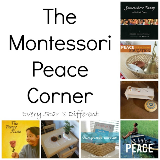 Montessori Peace Corner inspiration and resources for home and school.