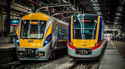 القطارات فى ماليزيا Malaysia Railway Trains