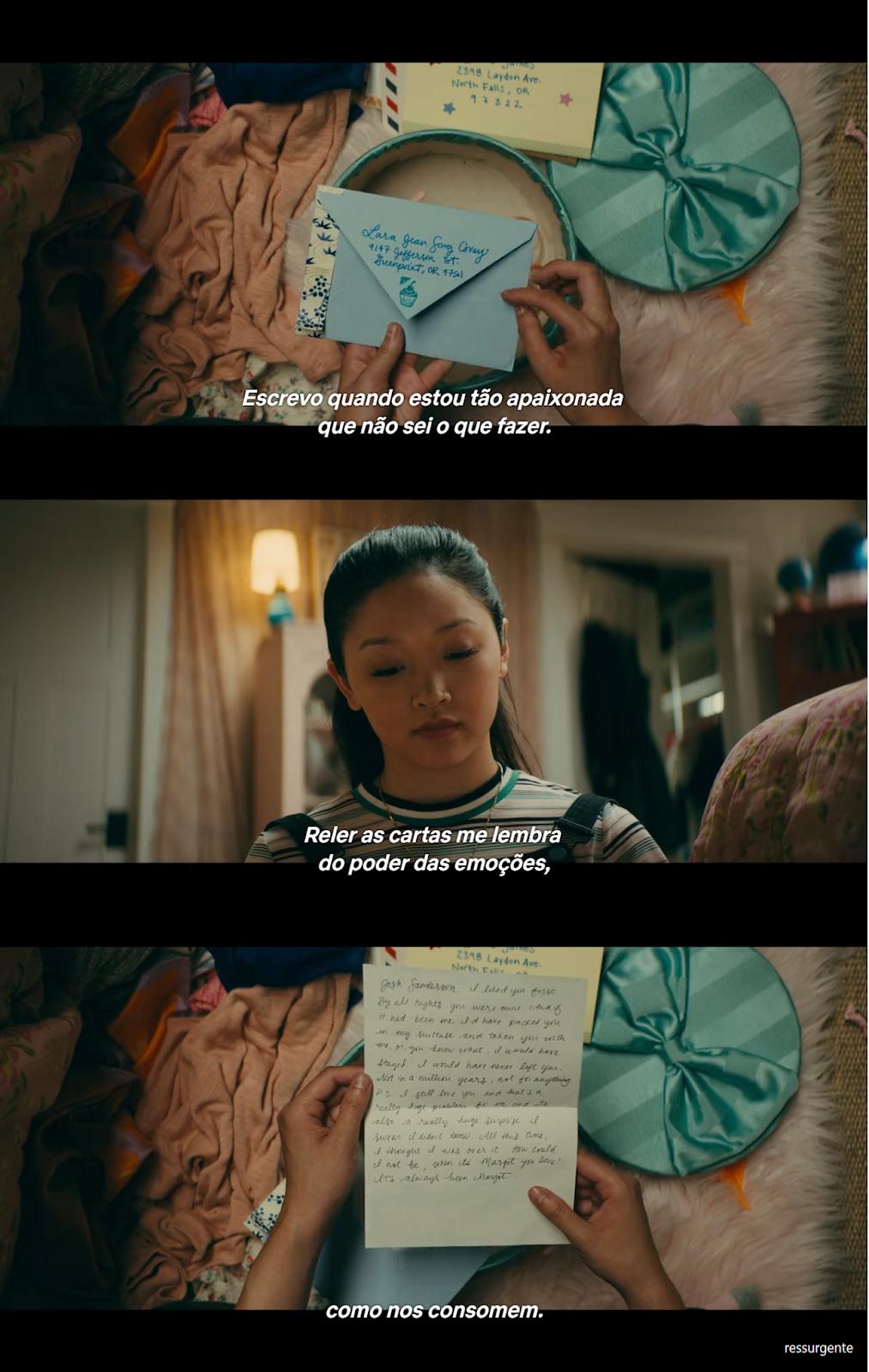 Ressurgente Frases Do Filme Para Todos Os Garotos Que Já Amei