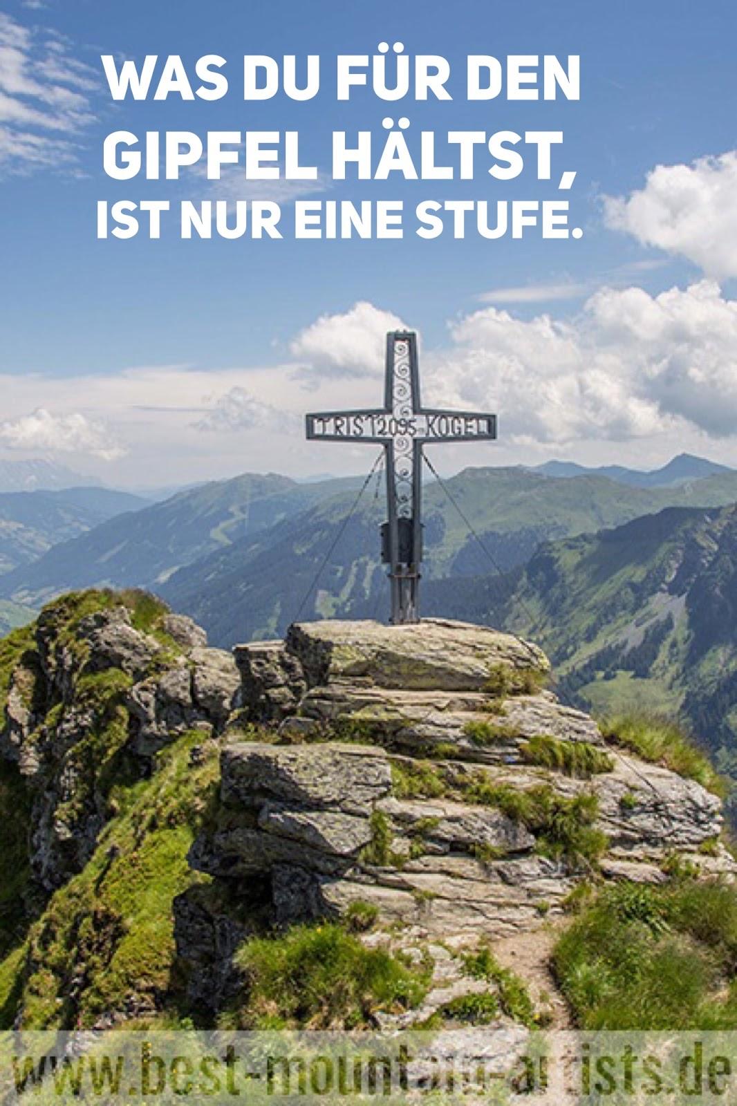 """""""Was du für den Gipfel hältst, ist nur eine Stufe."""", Seneca"""