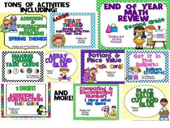 http://www.teacherspayteachers.com/Product/Second-Grade-End-of-Year-Mega-Math-Review-1223427
