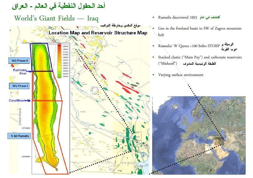 200 billion revenues of Rumaila oilfield ~ Iraq TradeLink News Agency