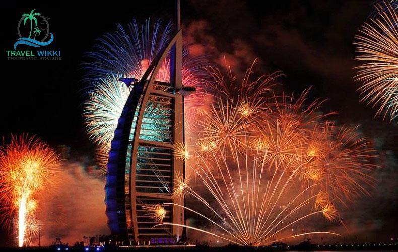 Dubai At new year