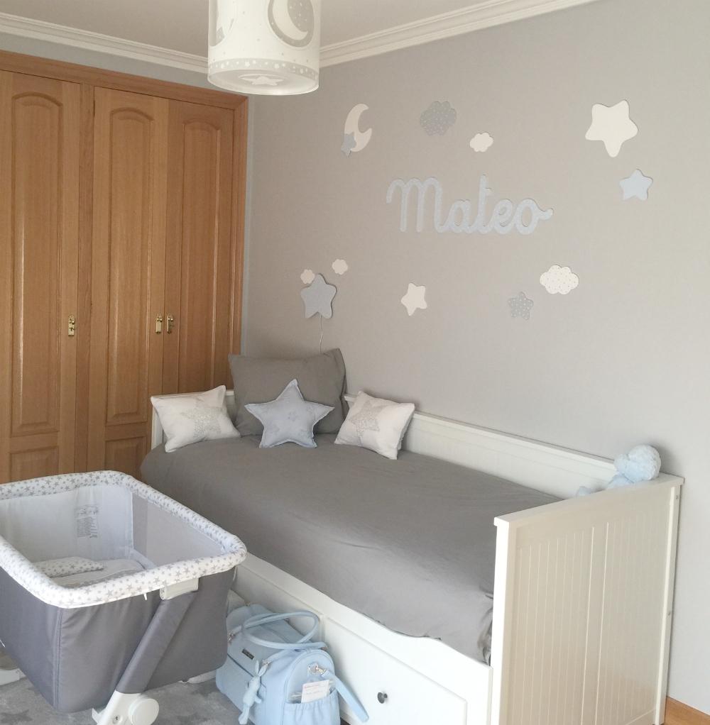 Letras y nombres para decorar paredes infantiles - Decoracion paredes habitacion infantil ...