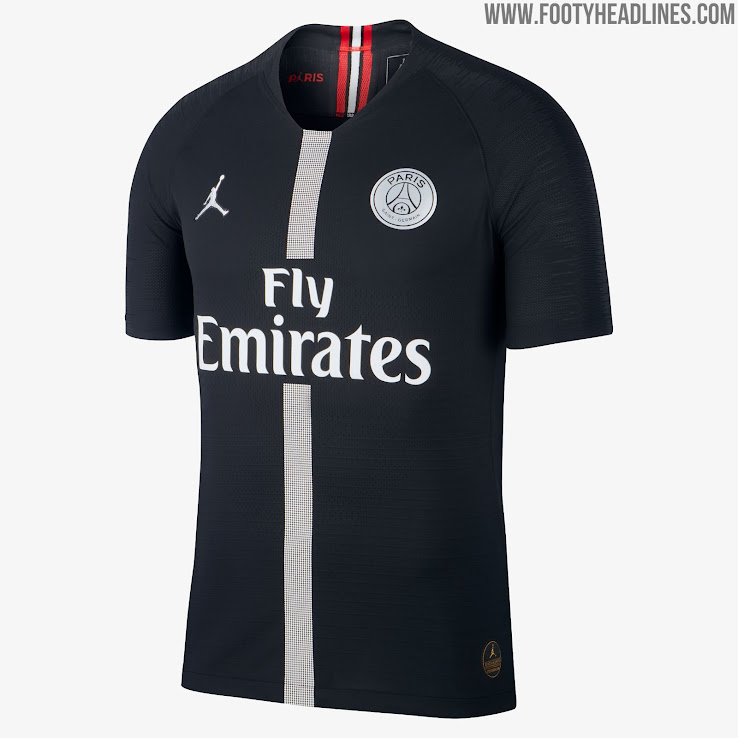 5954aa6bd78205 Jordan PSG 18-19 Champions League Kits Released - Footy Headlines