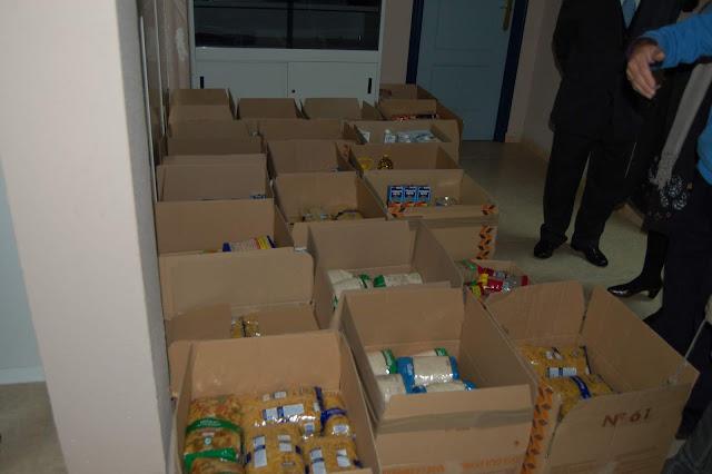 Recogida de alimentos para Cáritas de la Asociación A.P.A.F.