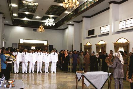 MUTASI GELOMBANG PERTAMA: Plt Bupati Subang Lantik 103 Pejabat Eselon 3 dan 4