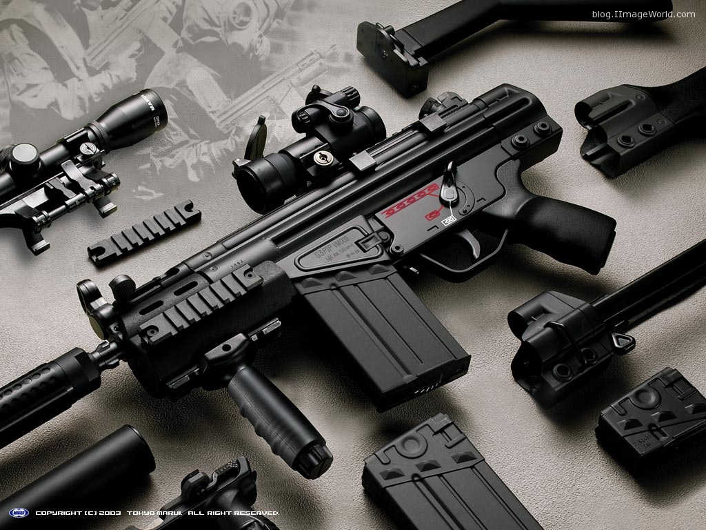 Guns & Weapons: Cool Guns Wallpapers #2
