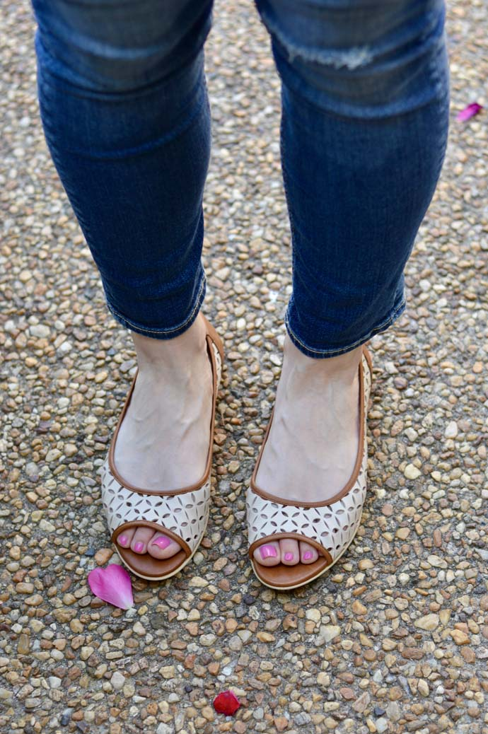 Camel Spring Flats Outfit