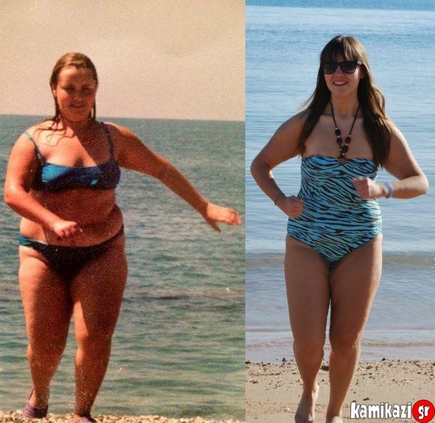 Μέσα σε λίγα χρόνια κατάφερε να χάσει 54 ολόκληρα κιλά και σήμερα η κοπέλα  δεν θυμίζει καθόλου εκείνο το υπέρβαρο κορίτσι των προηγούμενων ετών. b91037db973
