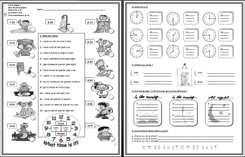 Image Result For English Grammar Worksheets Present Continuous