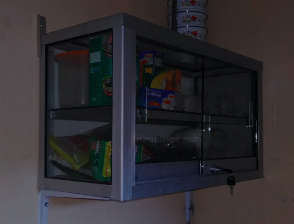 Kitchen Set Elegan Dari Etalase Kaca Rumah Sae # Muebles Bekana Jaca