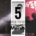 |5 Songs To Look Forward| - March