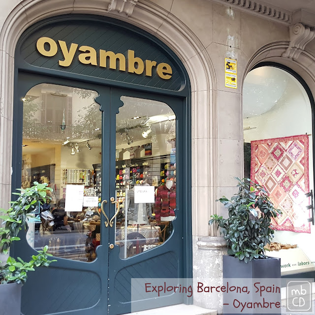 Oyambre Fabric Store, Barcelona, Spain by madebyChrissieD.com