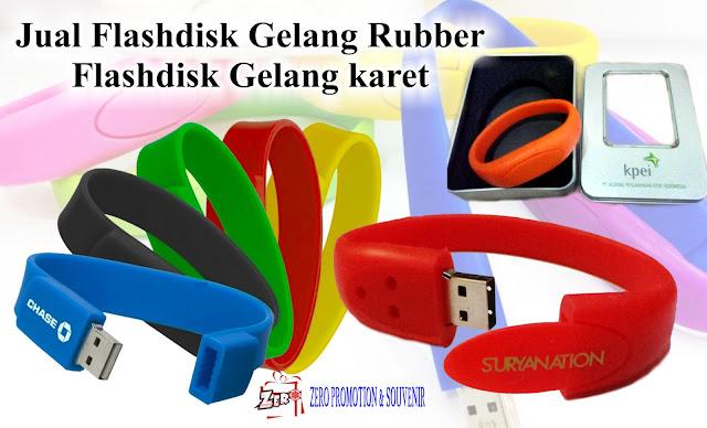 Jual Flashdisk Gelang Rubber / Flashdisk Gelang karet