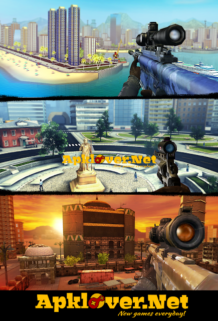 Sniper 3D Assassin MOD APK Unlimited Money