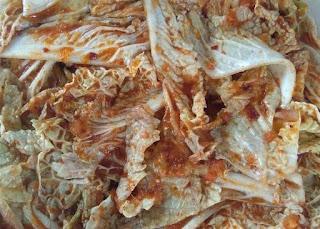 resep dan membuat kimchi sawi