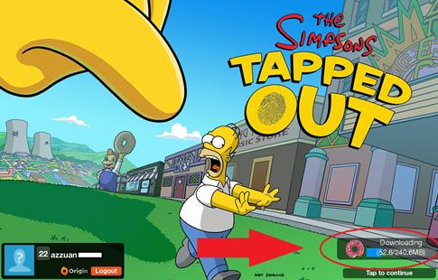 تحميل لعبة عائلة سمبسون The Simpson مهكرة للاندرويد