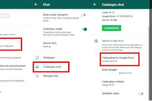 Cara Mengatur Cadangan WhatsApp ke Google Drive