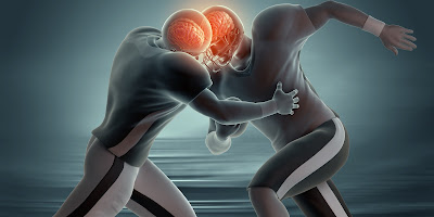 Football Concussion Demonstration - El Paso Chiropractor