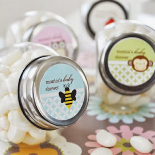Personalized Baby Shower Party Candy Jar Favor