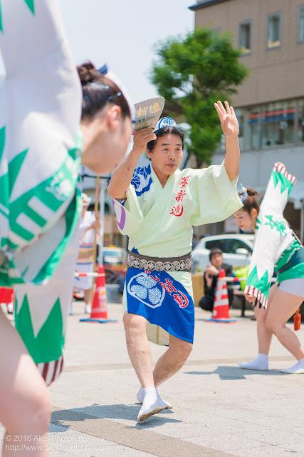 葵新連、男踊りの写真 2枚目