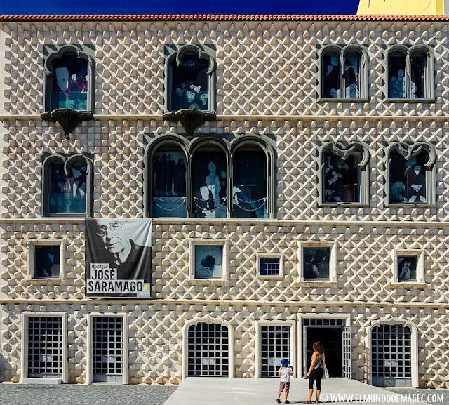 Casa de los Bicos. Fundación José Saramago
