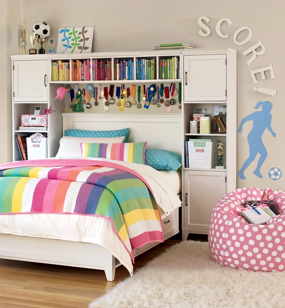 Dream Bedrooms For Teenage Girls: Teen Dream Rooms