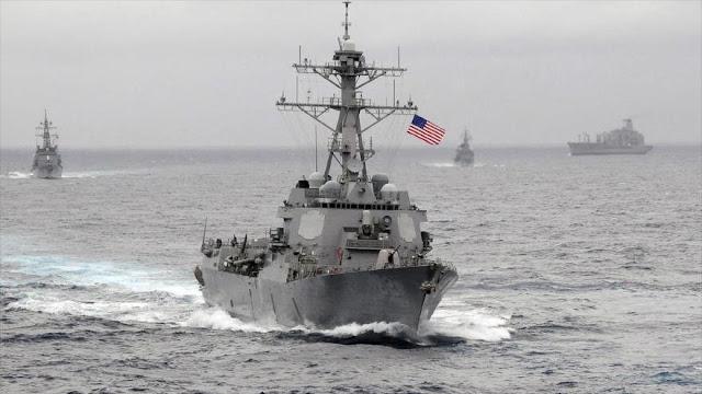 Informe: EEUU sopesa mostrar músculo a China en aguas asiáticas