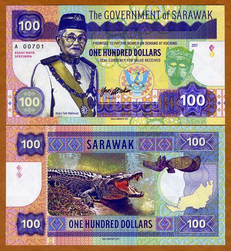 Sarawak 100 dollars