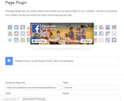 Cara Memasang Fanspage Plugin Facebook diBlog ataupun Website