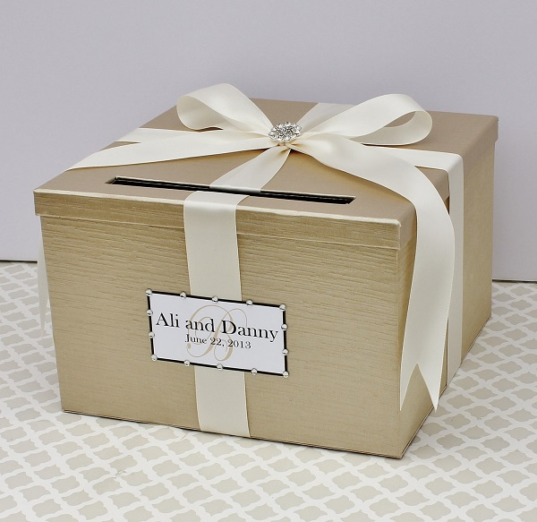 Card Holder Unique Wedding Ideas: How To Decorate A Wedding Card Box