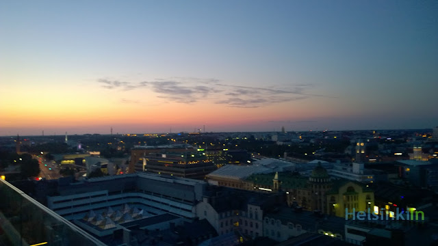 View over beautiful Helsinki