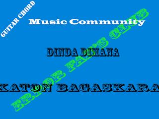 Chord Gitar Katon Bagaskara | Dinda Dimana