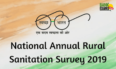 National Annual Rural Sanitation Survey 2019